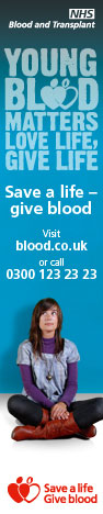 National Blood Service - Do Something Amazing - Save a Life - Give Blood